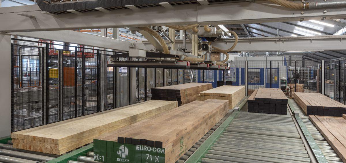 Kijkje bij de geautomatiseerde productielijn