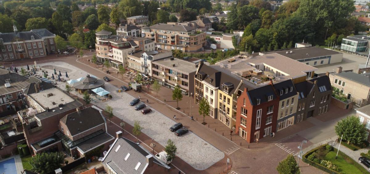 25 appartementen aan de Markt te Veghel