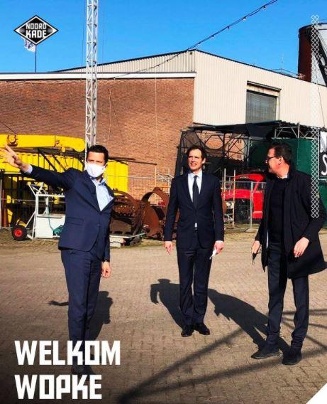 Wopke Hoekstra bezoekt Noordkade in Veghel