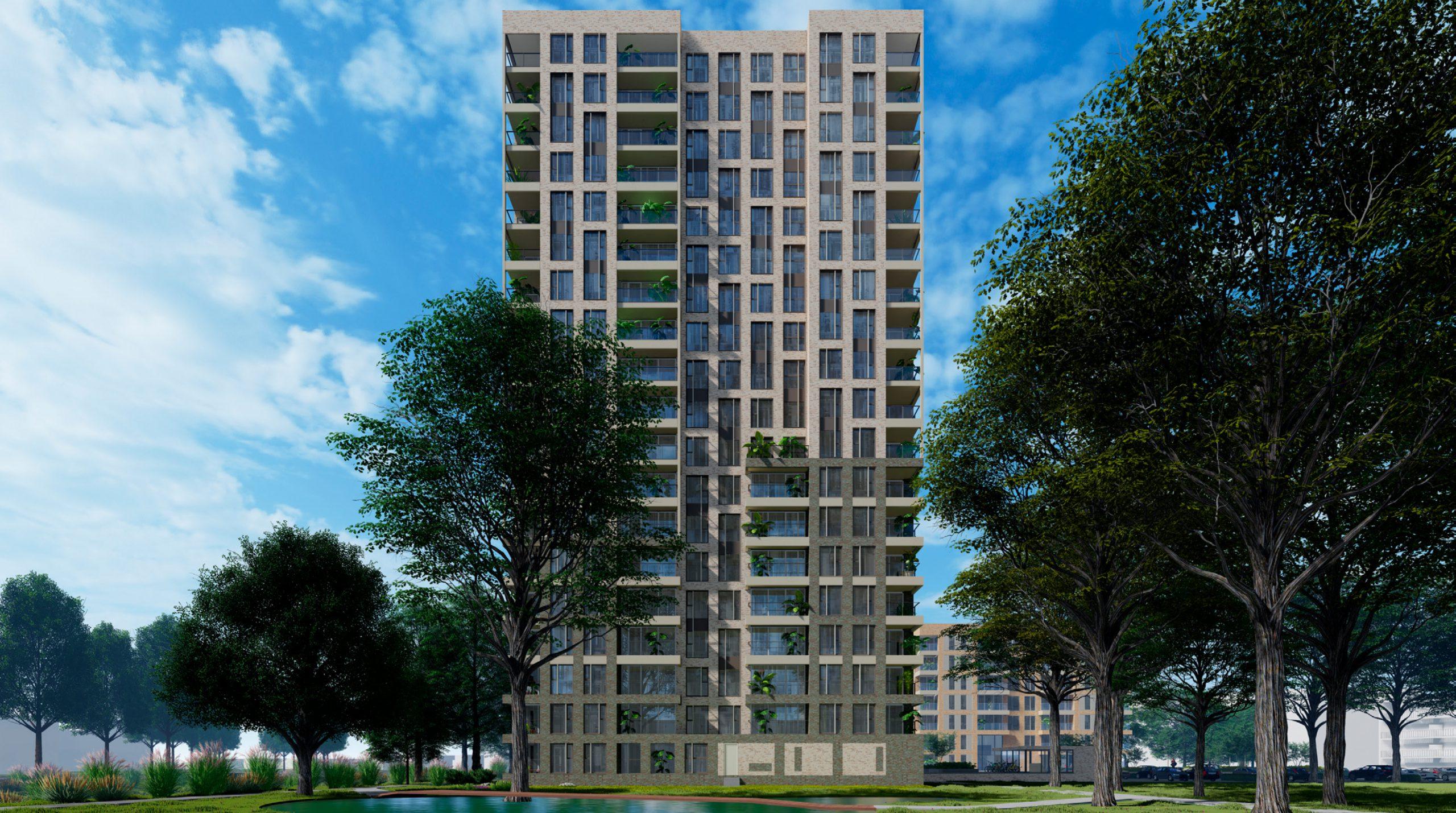 Start bouw 165 appartementen te Amersfoort