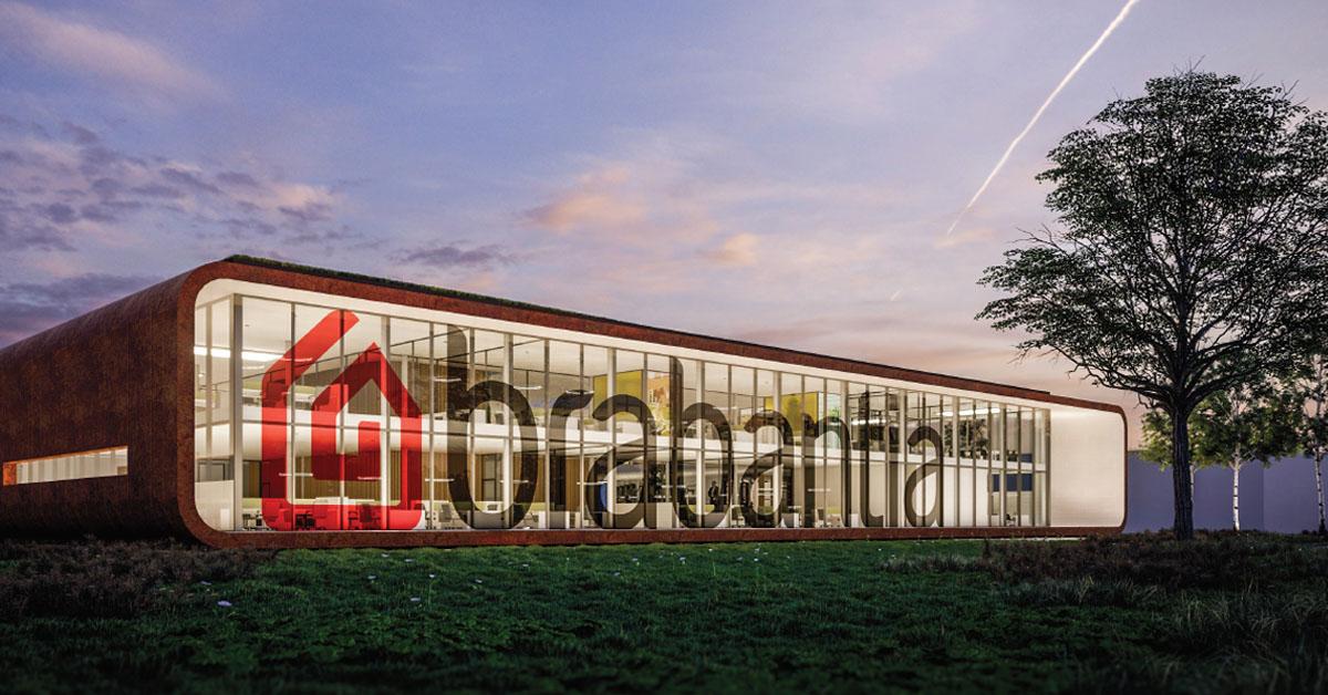 Nieuwbouw Design Center Brabantia te Valkenswaard