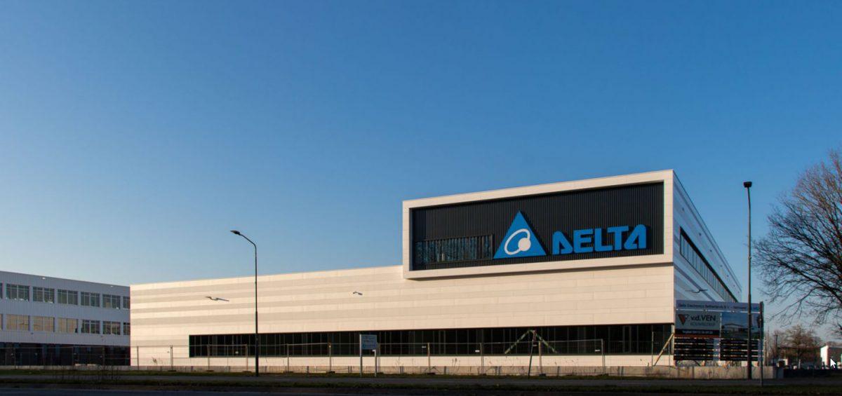 De nieuwbouw van Delta is klaar, echt een visitekaartje!