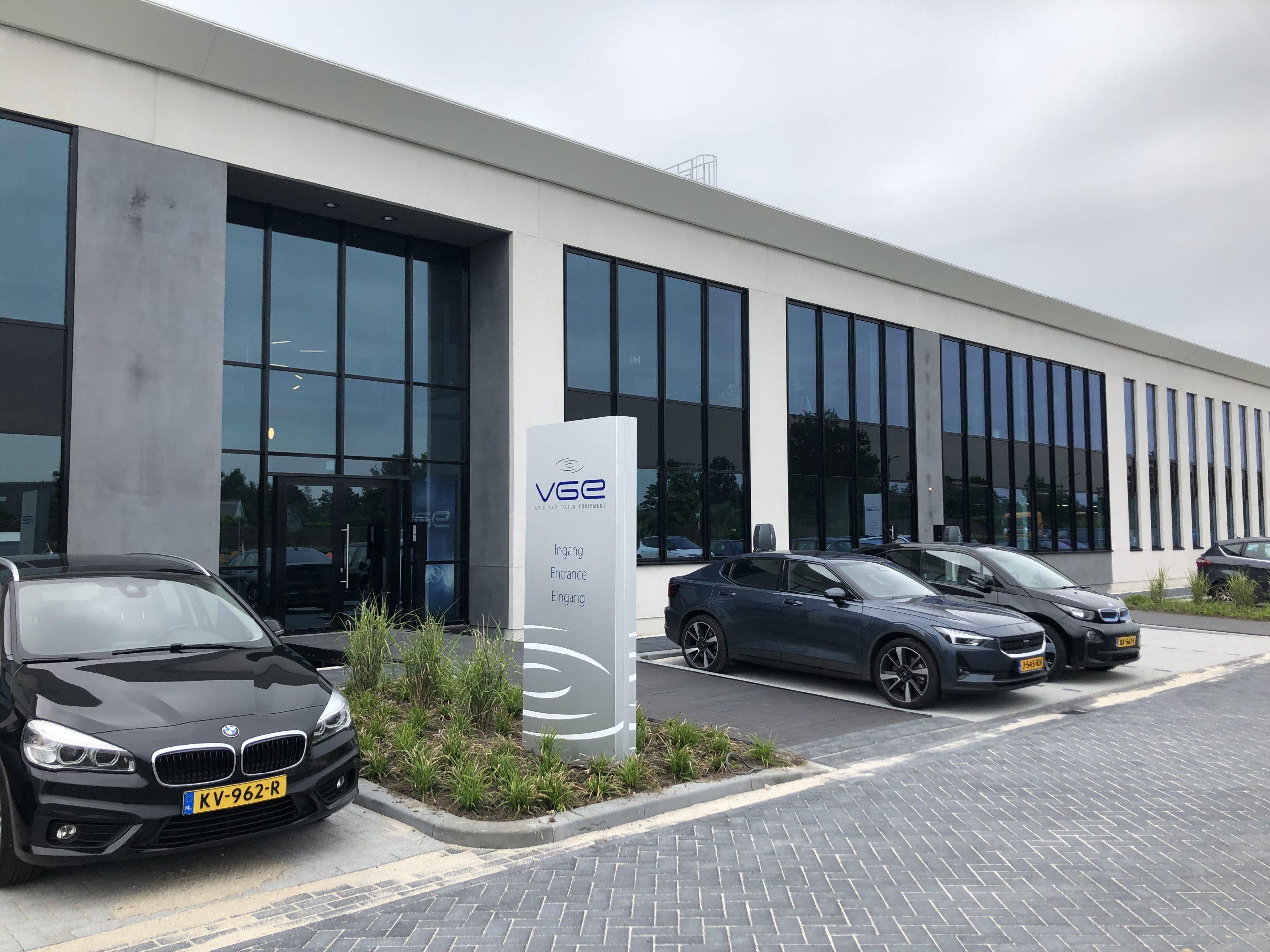 Time-lab van nieuwbouw VGE International in Schijndel